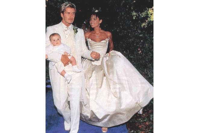 David and Victoria Beckham wedding