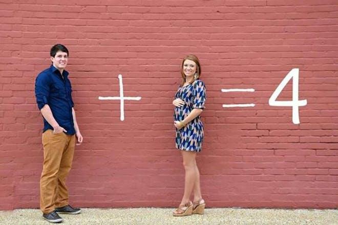 Sum pregnancy announcement