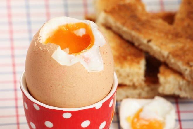 3. Dippy eggs and soldiers