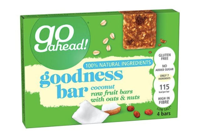 85. Go Ahead Goodness Bar With Coconut