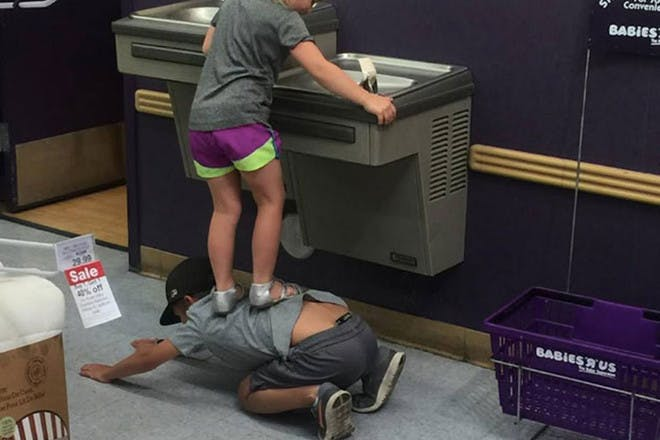 Sibling love shown in brother's kind gesture