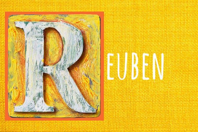 Baby name Reuben