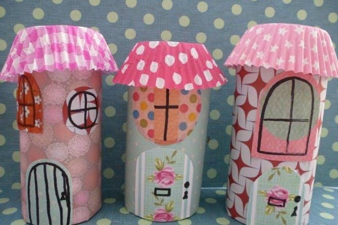25. Make fairy houses