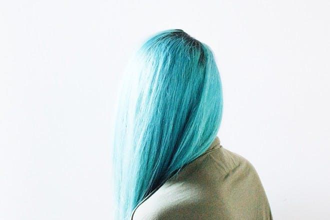 20. Turquoise hair