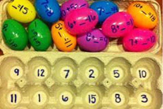 Maths eggs