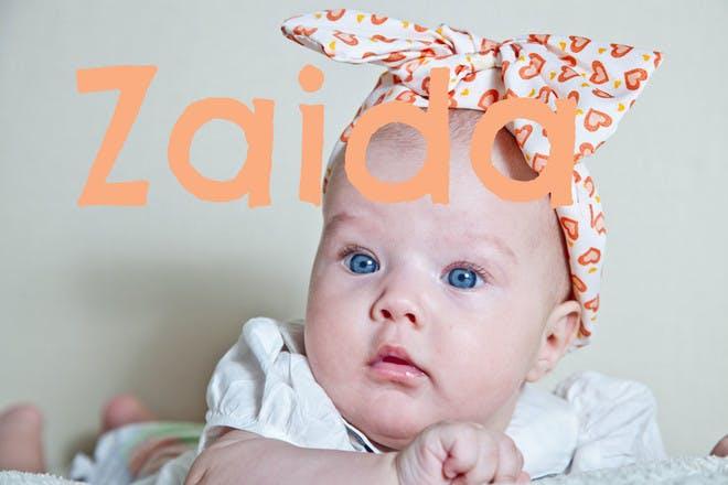 Baby name Zaida