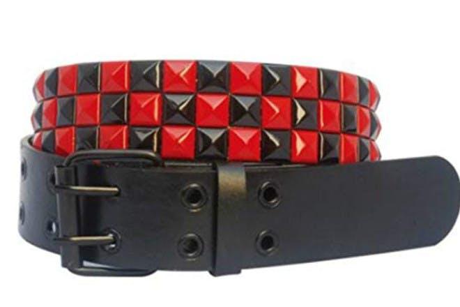 11. Rocked studded belts