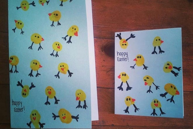 Chick print cards