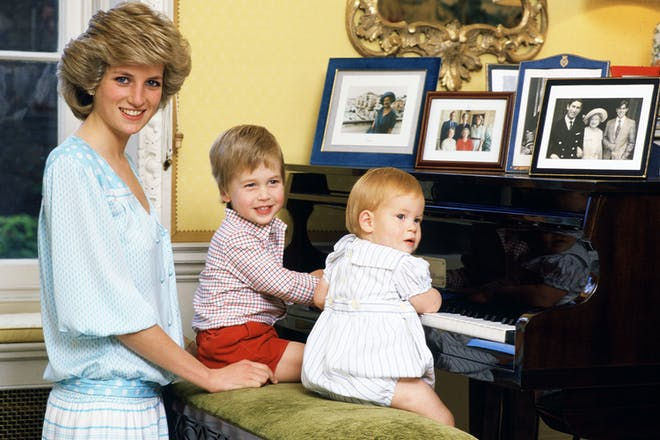 3. Prince William and Prince Harry's mum