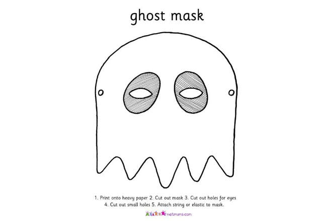 ghost mask print off