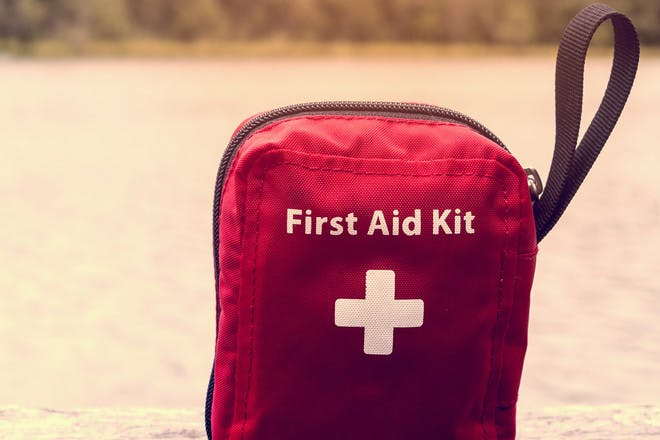 11. First-aid kit