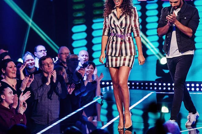 Rochelle Humes and Marvin Humes host The Hit List