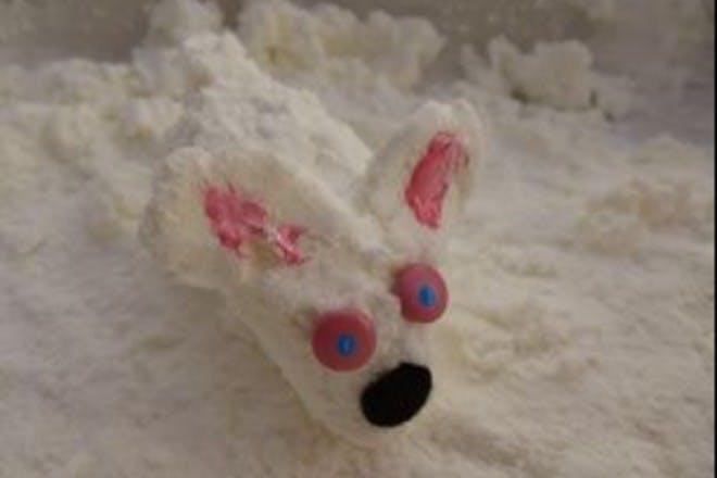 cloud dough bunny