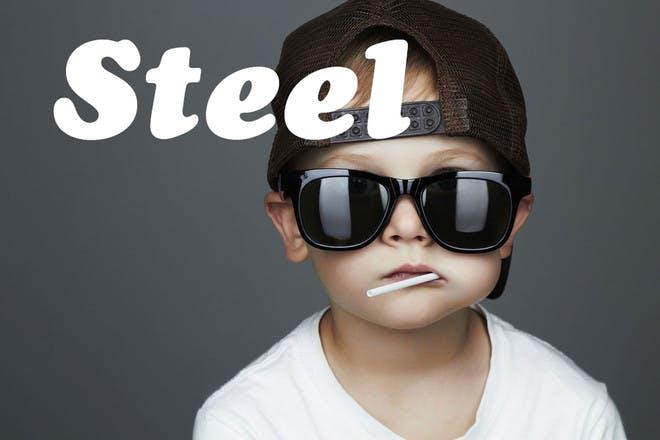 Baby name Steel