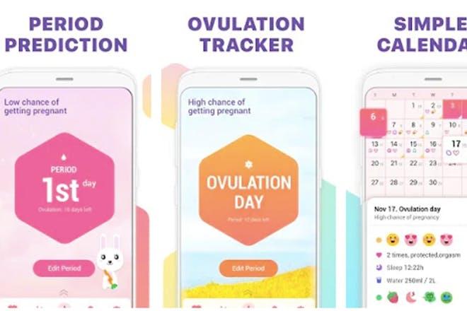 24. Period Tracker, Ovulation Calendar & Fertility