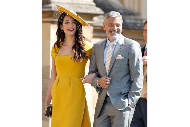 7. When George and Amal Clooney were outfit goals