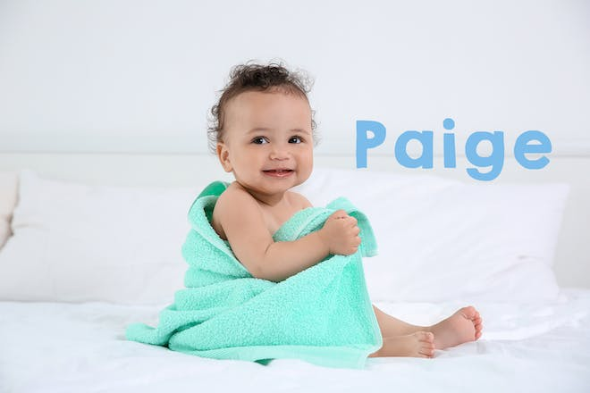 Paige baby name