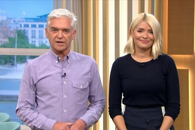 Holly Willoughby and Philip Schofield This Morning