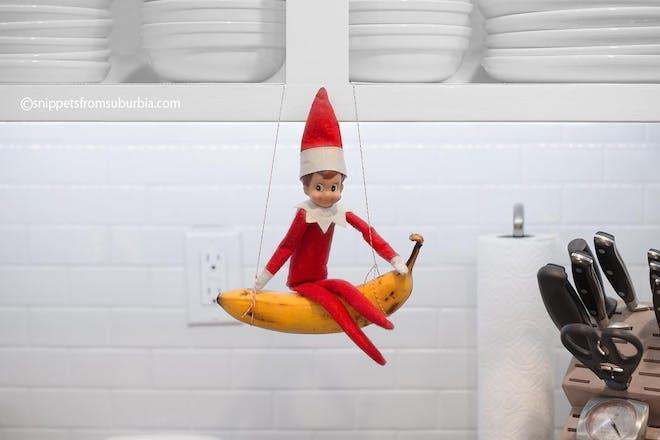 71. Banana swing