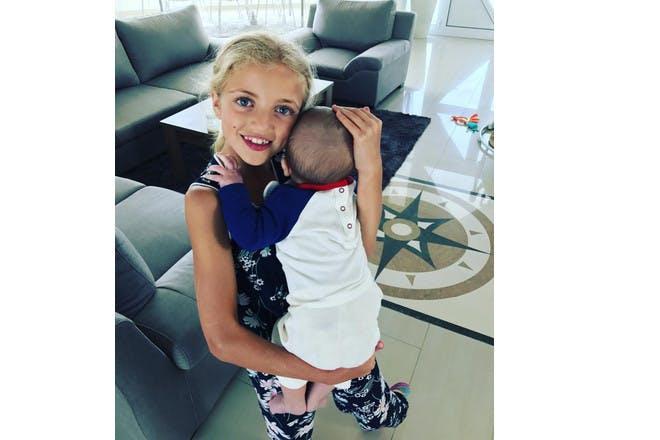 Peter Andre daughter Princess