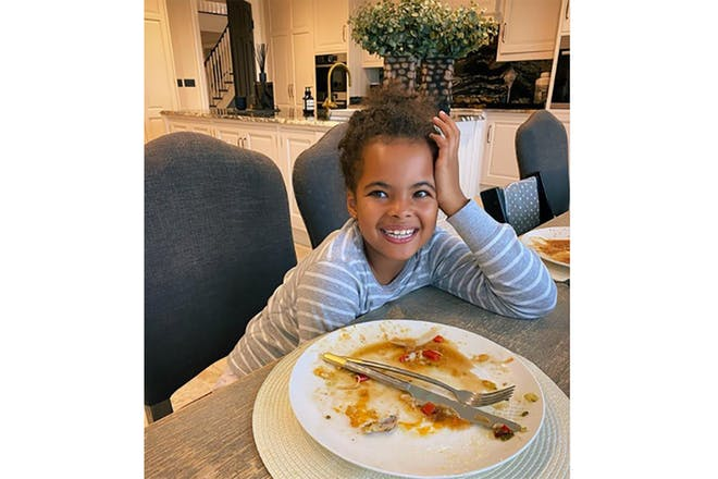 Rochelle Humes' daughter