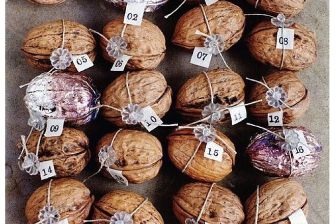 nut advent calendar