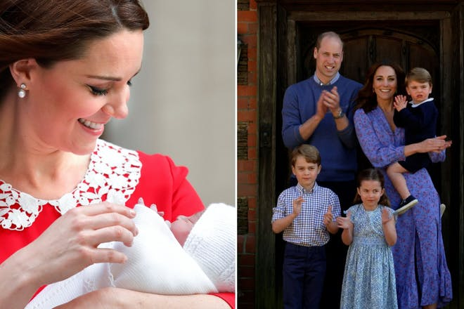 38 of the sweetest snaps of Kate Middleton and her kids