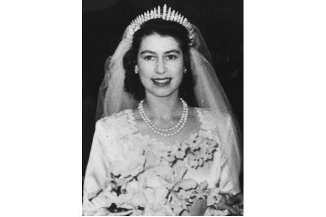 Queen Elizabeth – the tiara
