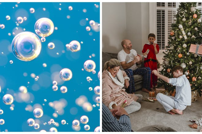 xmas bubbles childcare