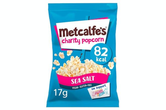 Metcalfe's Sea Salt Popcorn 17g