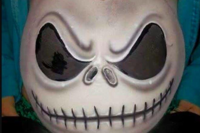 13. Scary Face Bump
