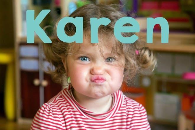 Baby name Karen