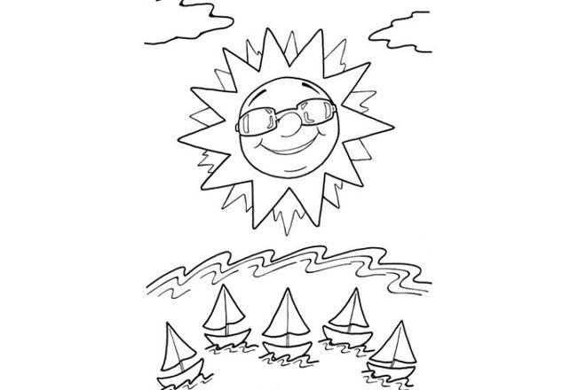 Sunshine and boats