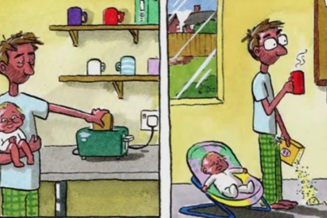 dad cartoon