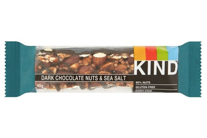 93. Kind Bars Dark Choc Nuts & Sea Salt Bar
