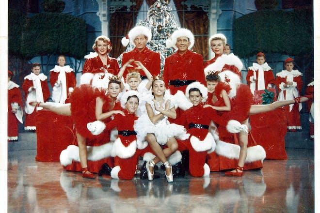 White Christmas movie still