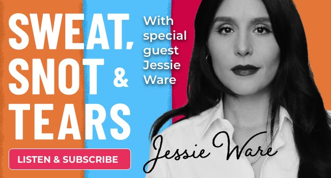 Jessie Ware, Sweat, Snot and Tears podcast