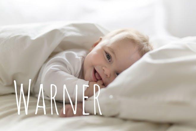 Baby name Warner