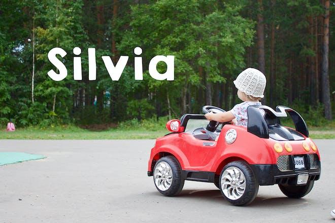 Silvia baby name