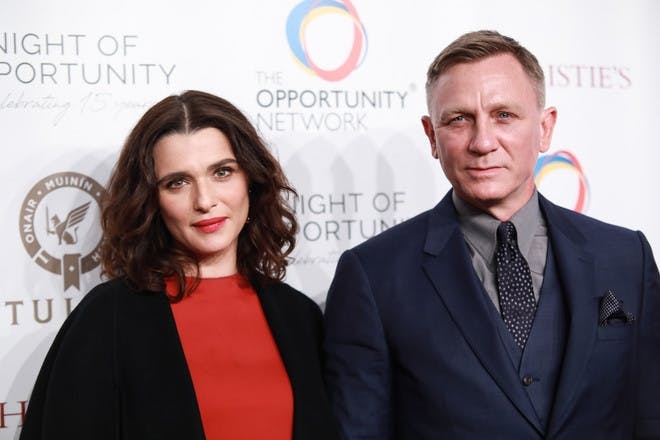 2. Daniel Craig and Rachel Weisz