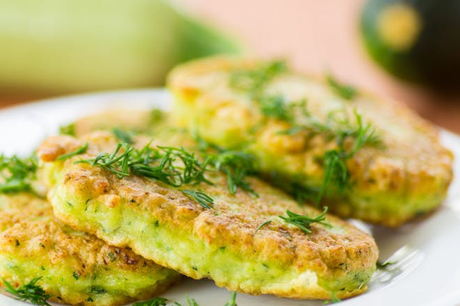 14. Courgette pancakes