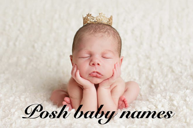 The top 100 posh baby names for boys and girls