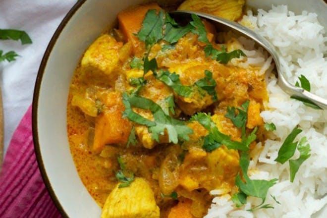 Mild toddler curry