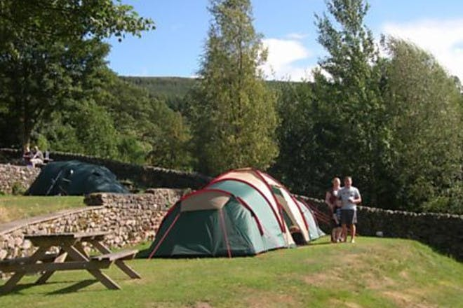 Castle Archdale camping