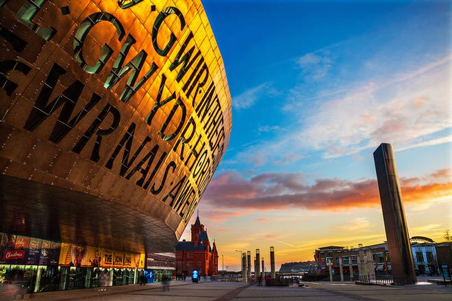 Millenium Centre, Cardiff Bay, Wales