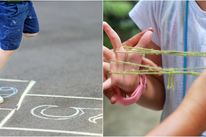30 school playground games they don't play anymore