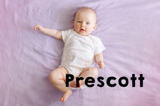 Prescott baby name