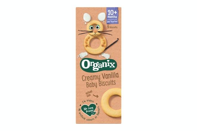Organix Finger Foods Creamy Vanilla Ring Biscuit