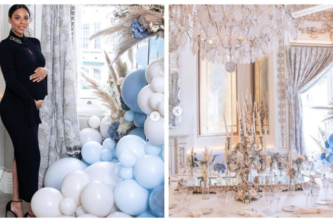Rochelle Humes' baby shower