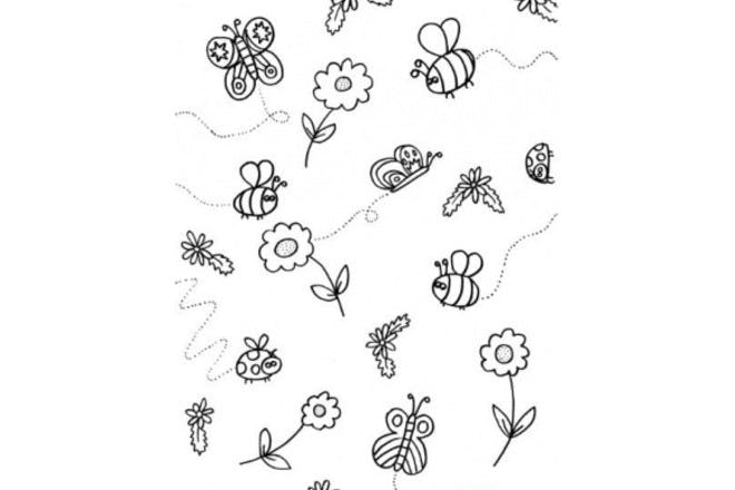 1. Insects and flowers